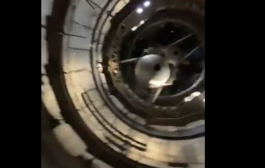 Elon musk shows inside the SpaceX's Starship Mk1 Prototype