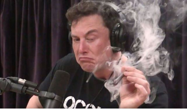 "Billionaire Elon musk says smoking marijuana with Joe Rogan was ""not wise"""