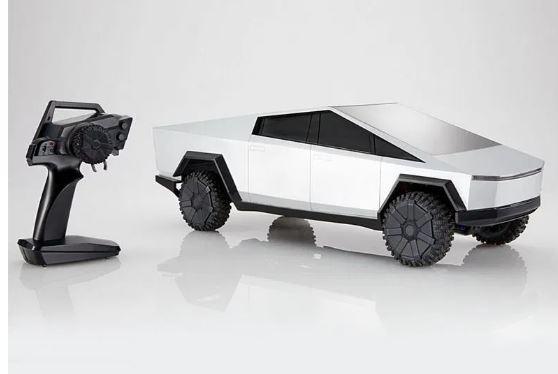 Hot Wheels made two remote-controlled Tesla Cybertruck toys