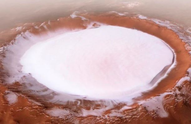 """""""Petrified"""" or evaporated – the mystery of the disappearance of water on Mars solved?"""